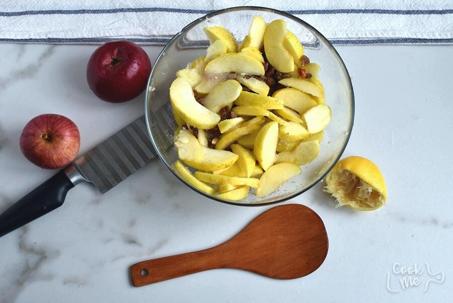 Apple Raisin Casserole recipe - step 3