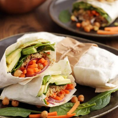 Avocado Tuna Wraps Recipe-Quick Avocado Tuna Wrap-Delicious Quick Avocado Tuna Wrap