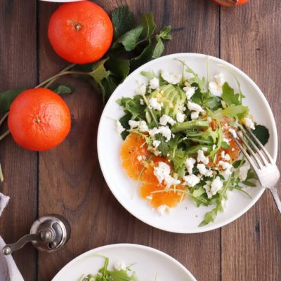 Avocado and Tangerine Salad with Spicy Vinaigrette Recipe-Delicious Avocado and Tangerine Salad-Spicy Avocado and Tangerine Salad