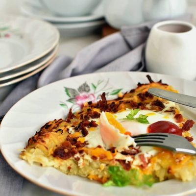 Bacon & Egg Hash Browns Recipe-Homemade Bacon & Egg Hash Browns -Delicious Bacon & Egg Hash Browns