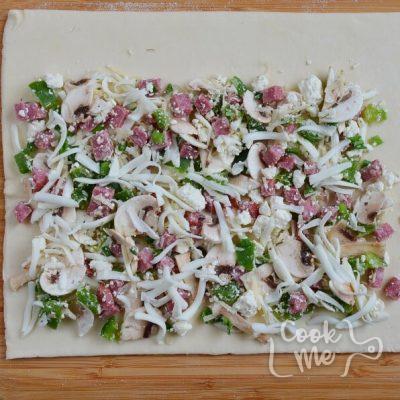 Calzone Pinwheels recipe - step 3