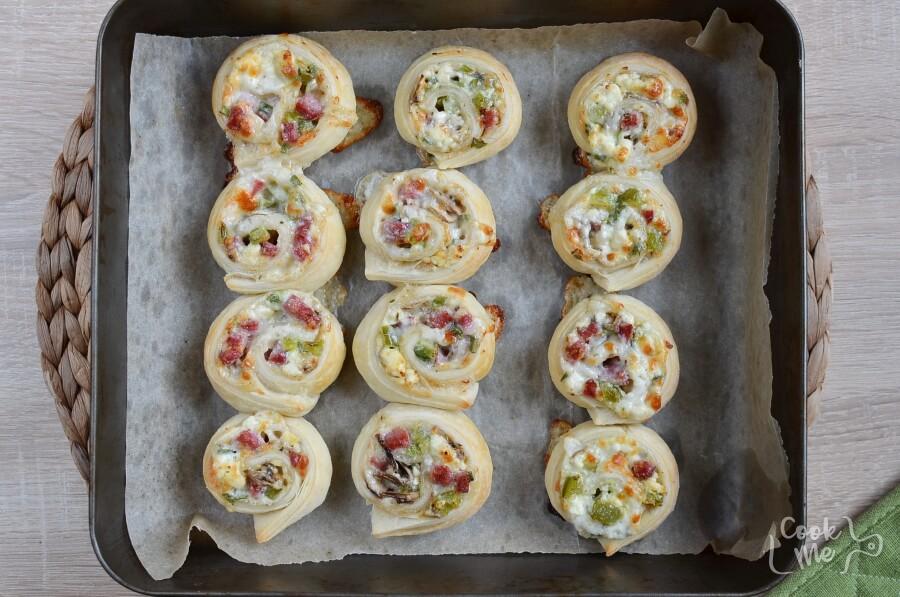 Calzone Pinwheels recipe - step 5