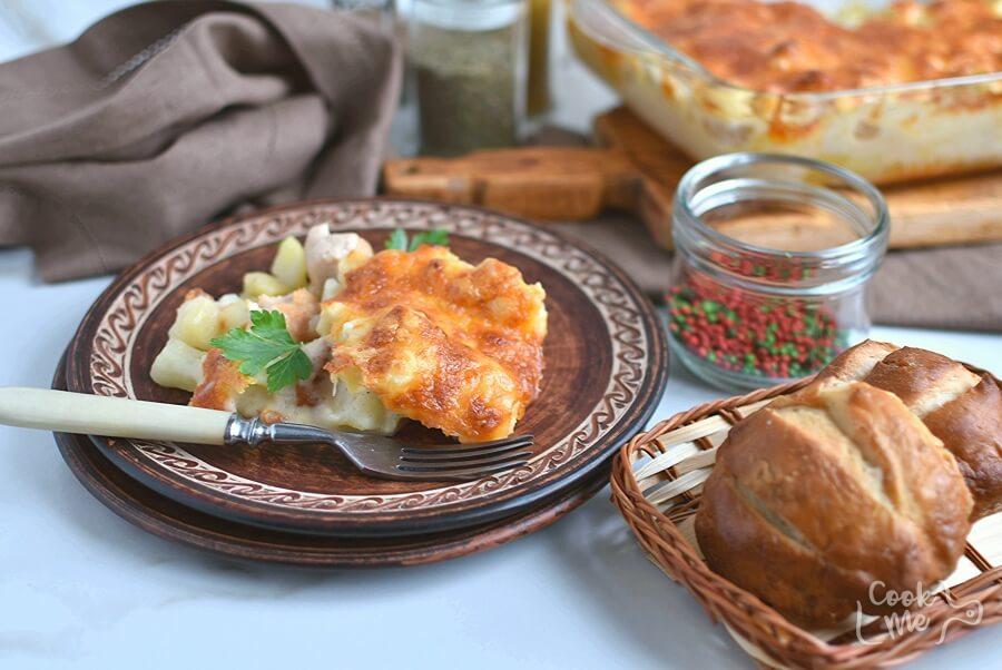 How to serve Cauliflower Sausage Casserole