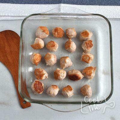 Cauliflower Sausage Casserole recipe - step 2