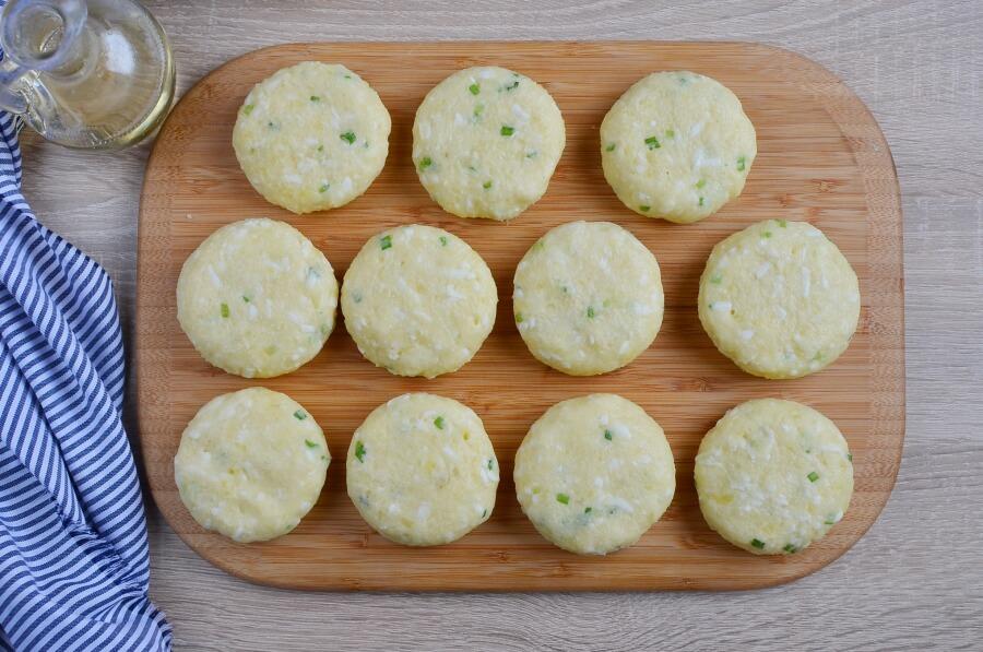 Cheesy Mashed Potato Pancakes recipe - step 2