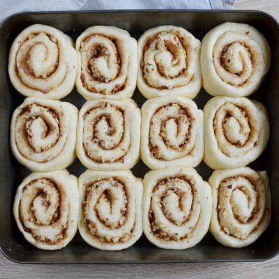 Cinnamon Rolls with Nuts recipe - step 12