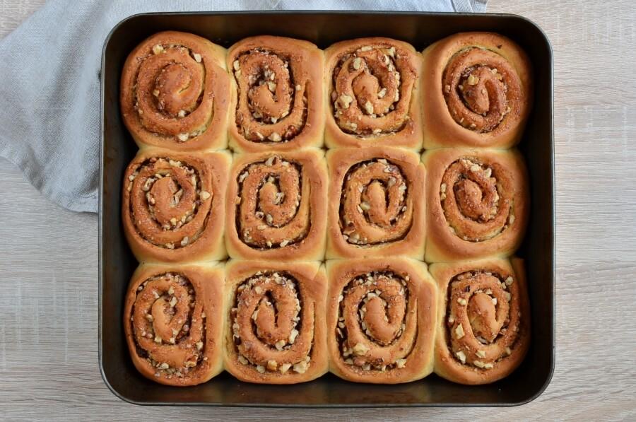 Cinnamon Rolls with Nuts recipe - step 14