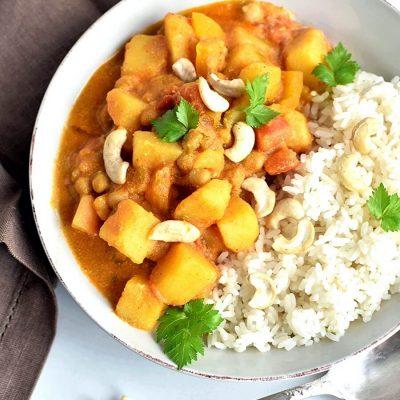 Creamy Vegan Korma Recipe-How To Make Creamy Vegan Korma -Delicious Creamy Vegan Korma