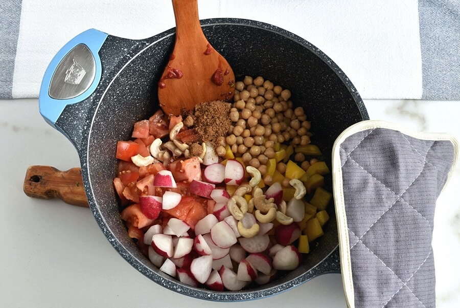 Creamy Vegan Korma recipe - step 5