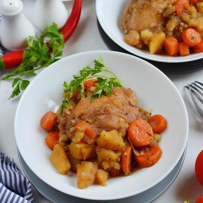 Crockpot Balsamic Chicken and Vegetables Recipe-How To Make Crockpot Balsamic Chicken and Vegetables-Delicious Crockpot Balsamic Chicken and Vegetables
