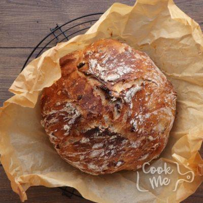 Crusty Cranberry Nut No Knead Bread recipe - step 6