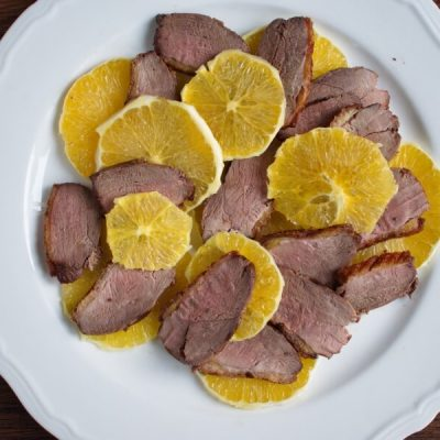 Duck and Orange Salad recipe - step 6