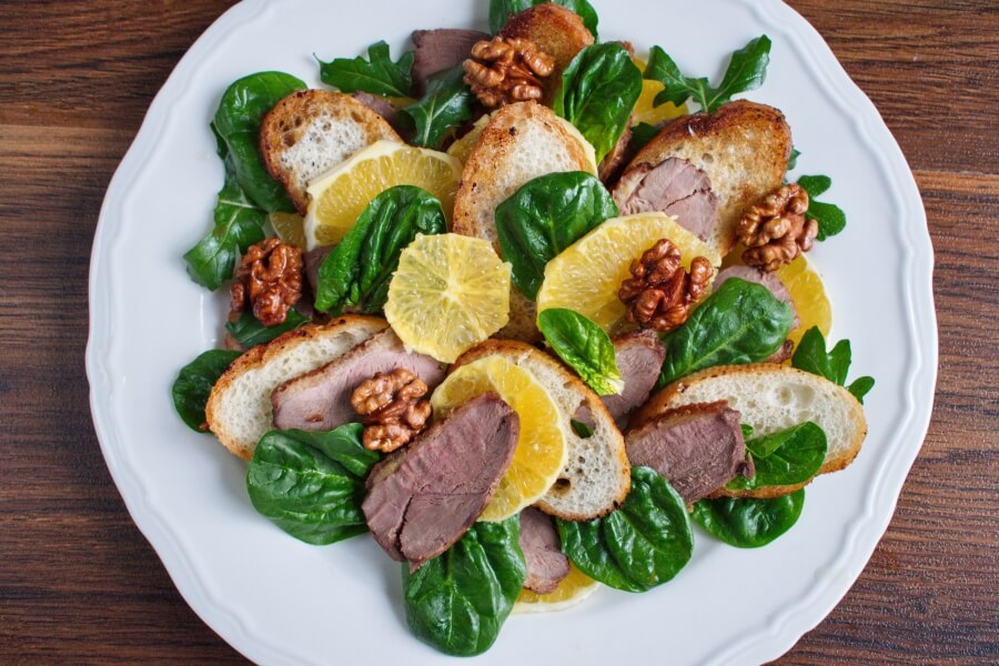 Duck and Orange Salad recipe - step 9