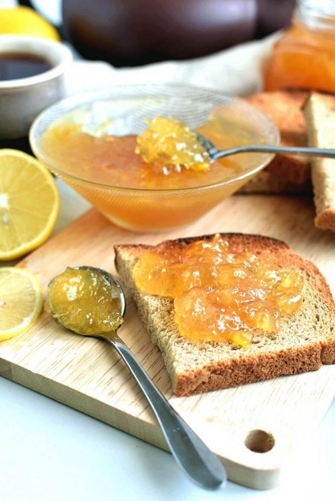 Easy Lemon Ginger Marmalade