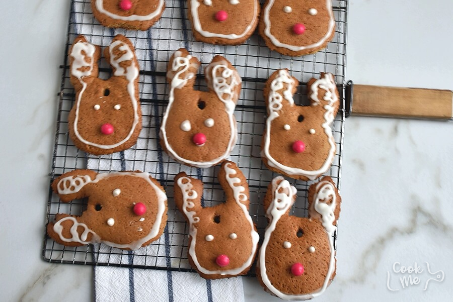 How to serve Gingerbread Reindeer Recipe