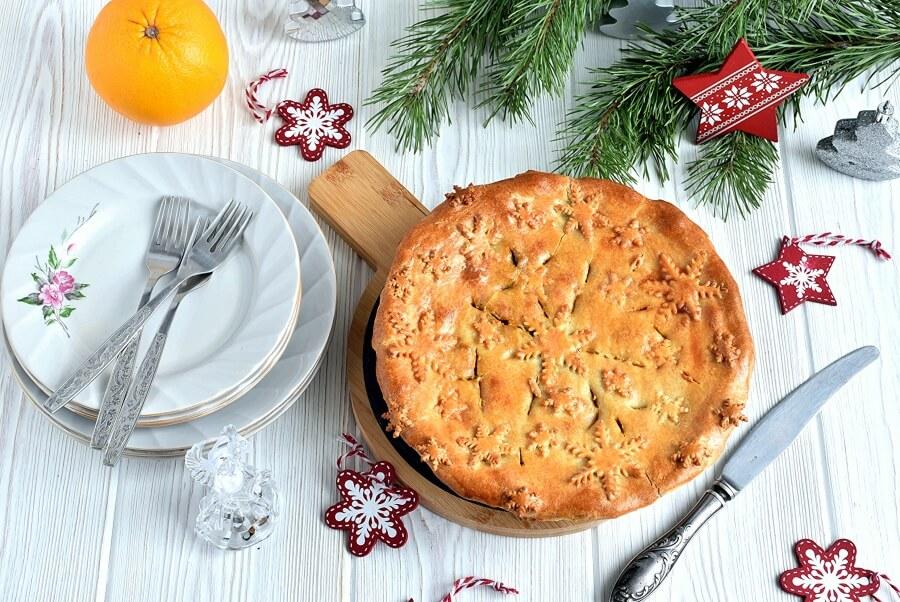 How to serve Gluten Free Curried Veggie Pie