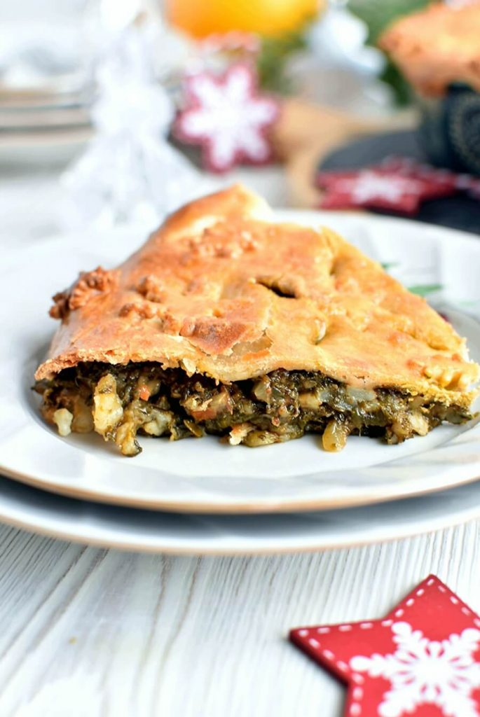 Healthy and Homemade Curried Vegetable Pie