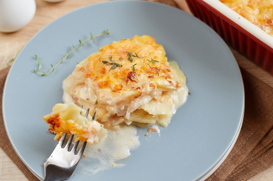 How to serve Gratin Dauphinoise