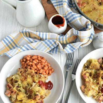 Ham hock & cabbage hash Recipe-Homemade Ham hock & cabbage hash-Delicious Ham hock & cabbage hash