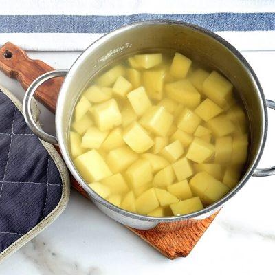 Ham & Potato Hash with Healthy 'Fried' Eggs recipe - step 2