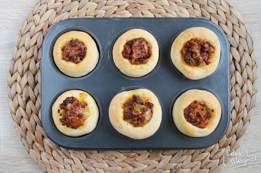 Homemade Cheeseburger Muffins recipe - step 8
