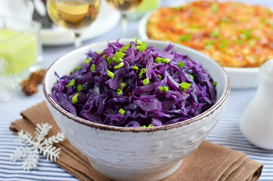How to serve Sauteed Red Cabbage