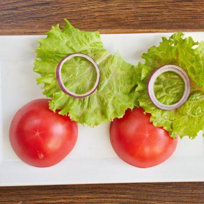 Keto Tomato Cheeseburger Without the Bun recipe - step 6