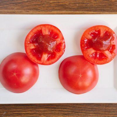 Keto Tomato Cheeseburger Without the Bun recipe - step 5