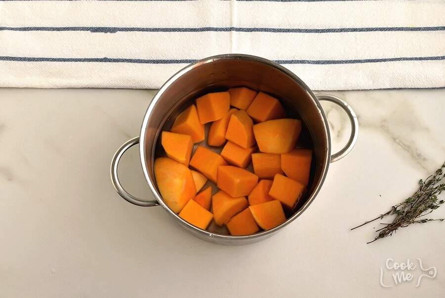 Lentil and Sweet Potato Shepherd's Pie recipe - step 1