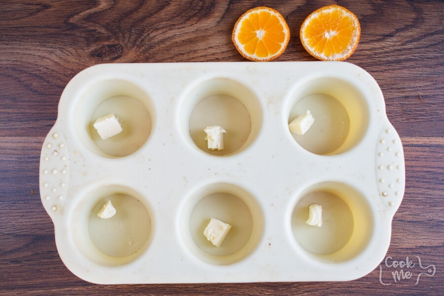 Mandarin Upside-Down Cakelets recipe - step 3