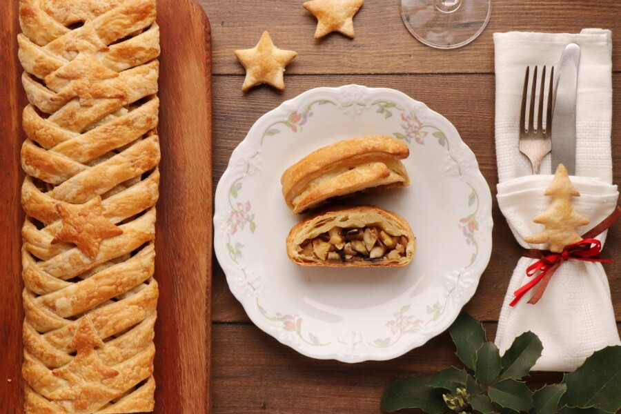 How to serve Maple Parsnip and Chestnut Wellington