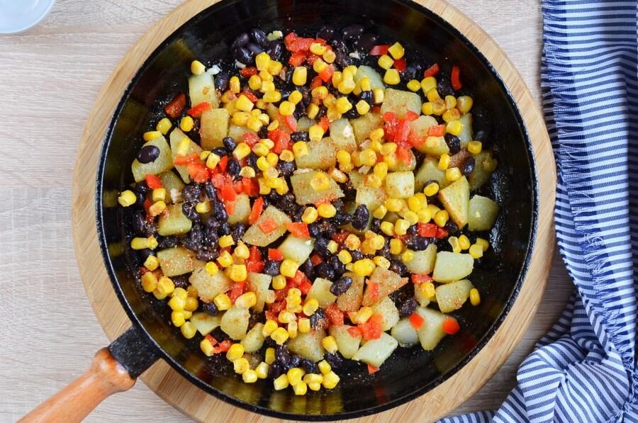 Mexican Veggie Hash recipe - step 3