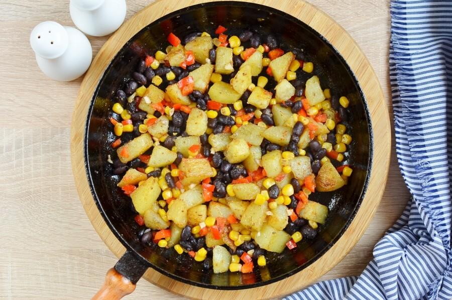 Mexican Veggie Hash recipe - step 4
