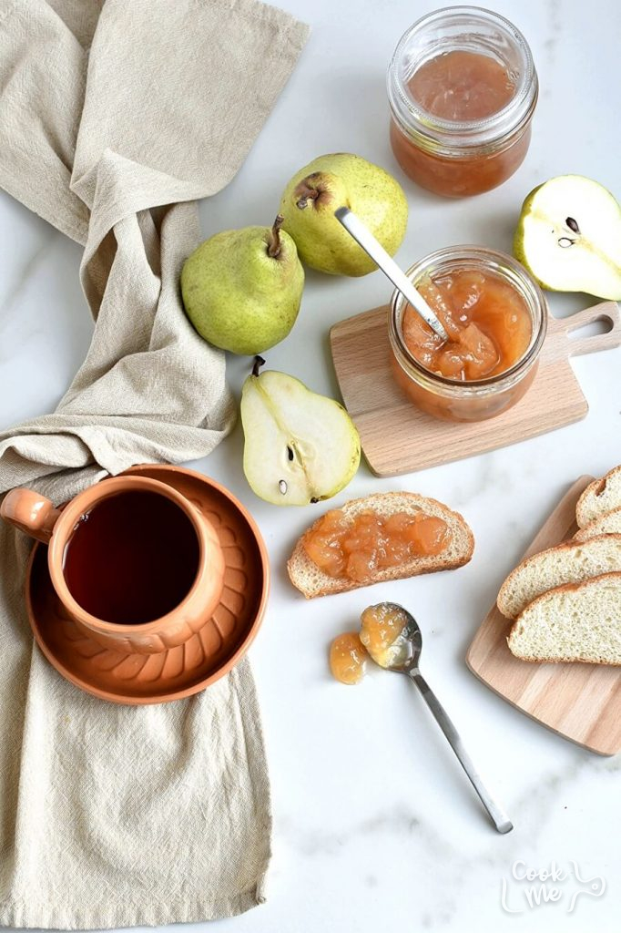 Pear and ginger marmalade Recipe-How To Make Pear and ginger marmalade-Delicious Pear and ginger marmalade