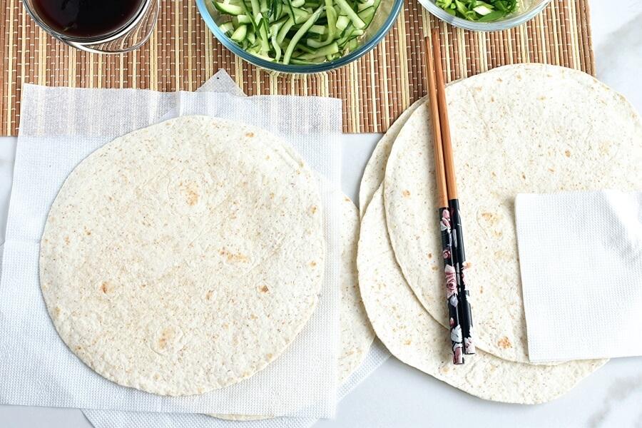 Peking Pork Wraps recipe - step 4