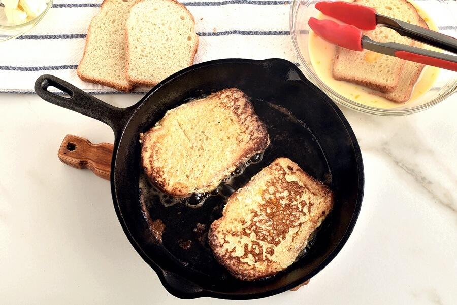 Savory Stuffed French Toast recipe - step 4