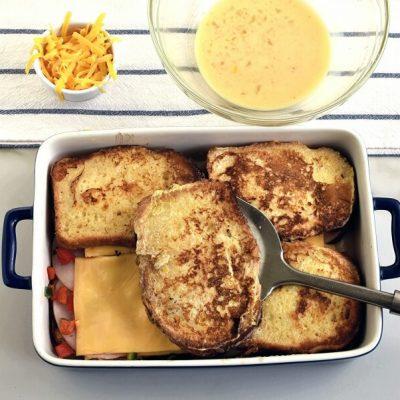 Savory Stuffed French Toast recipe - step 5