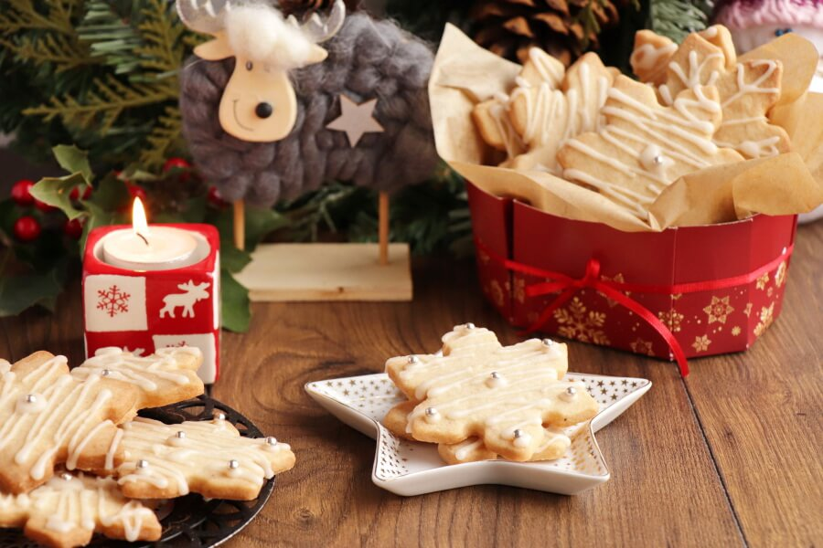 How to serve Star Anise Cookies