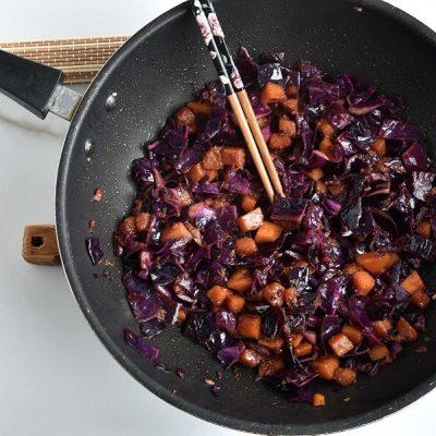Stir-Fried Tofu, Red Cabbage and Winter Squash recipe - step 6