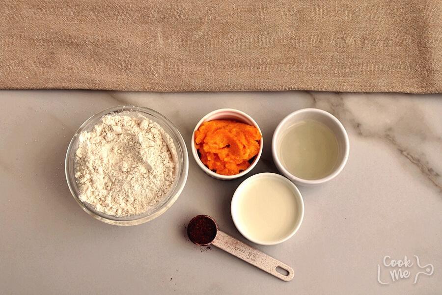 Ingridiens for The Best Pumpkin Mug Cake