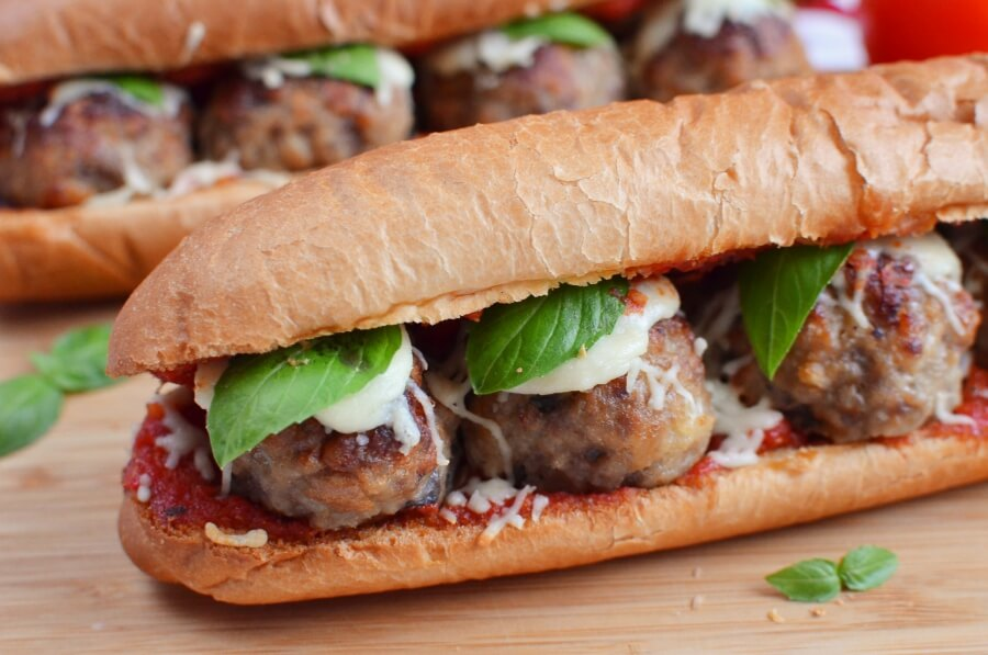 How to serve The Perfect Meatball Sandwich