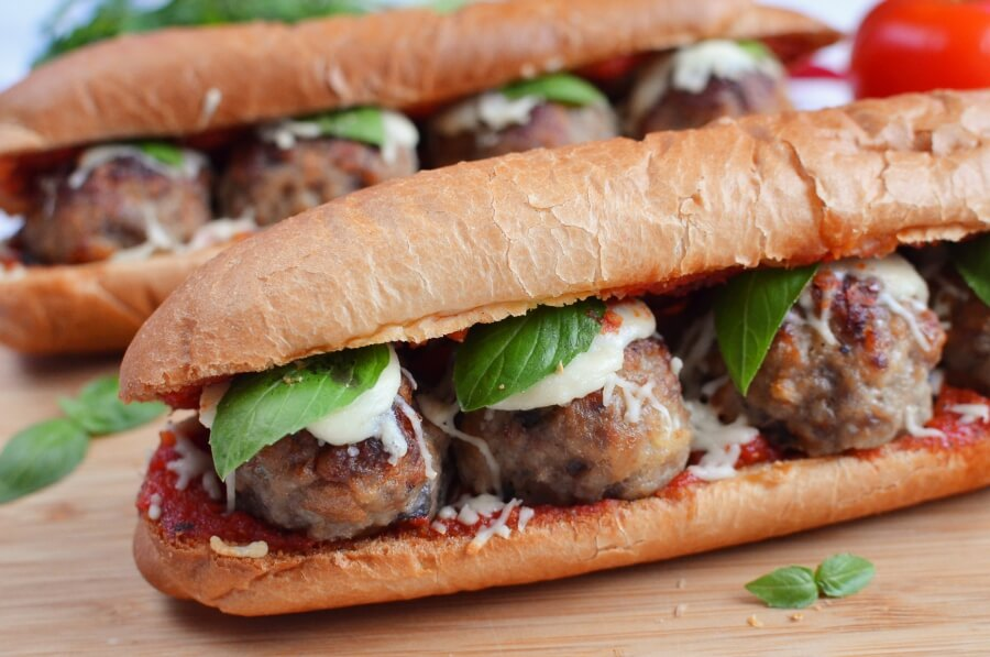 The Perfect Meatball Sandwich Recipe-How To Make The Perfect Meatball Sandwich-Delicious The Perfect Meatball Sandwich