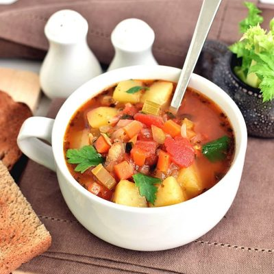 The Yummiest Vegetable Soup Recipe-How To Make The Yummiest Vegetable Soup -Delicious The Yummiest Vegetable Soup