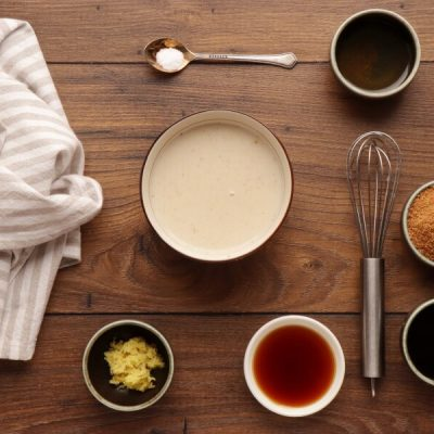 Vegan Gingerbread Cake with Triple Ginger recipe - step 4