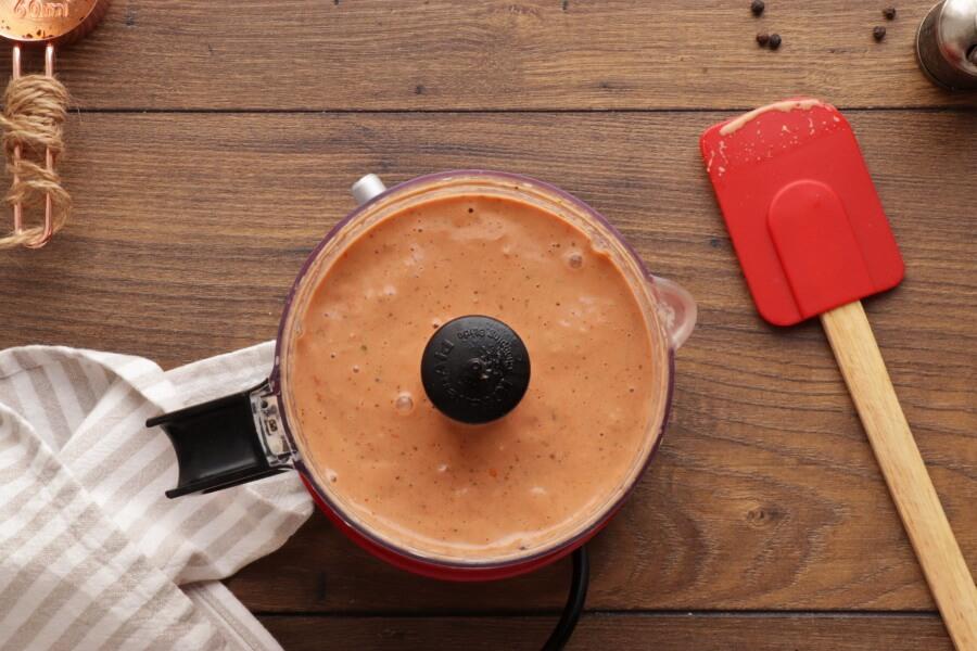 5 Minute Vegan Sun-Dried Tomato Alfredo recipe - step 2