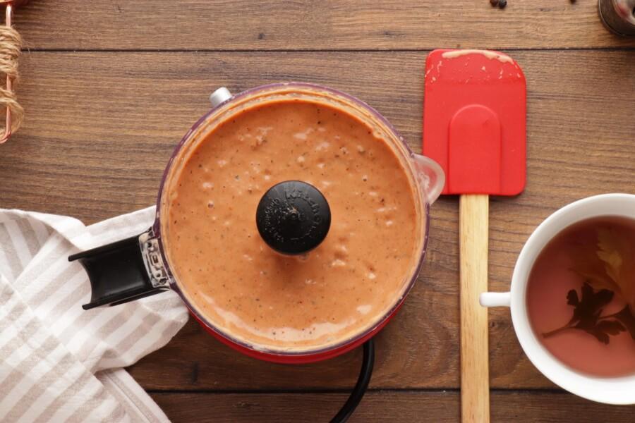 5 Minute Vegan Sun-Dried Tomato Alfredo recipe - step 3