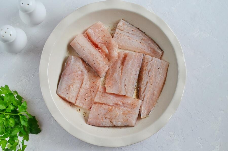 Baked Fish with Lemon Cream Sauce recipe - step 2