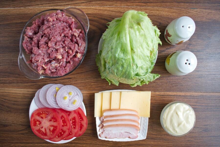Ingridiens for Best Iceburgers (Gluten Free)