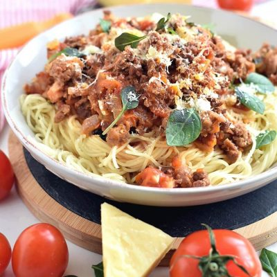 Best ever spaghetti bolognese Recipe-Homemade Best ever spaghetti bolognese-Delicious Best ever spaghetti bolognese