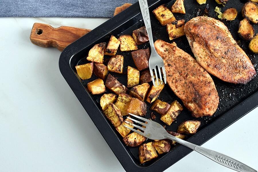 Blackened Chicken Sheet Pan Dinner Recipe-Homemade Blackened Chicken Sheet Pan Dinner e - Delicious Blackened Chicken Sheet Pan Dinner